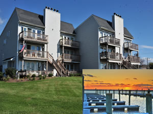 Harbor View Condo in Rock Hall, MD