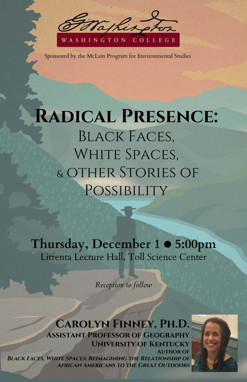 """Radical Presence: Black Faces, White Spaces, and Other Stories of Possibility"" A talk by"