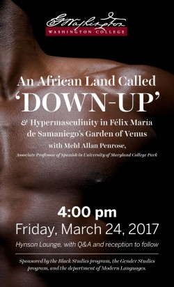 An African Land Called 'Down-Up' and Hypermasculinity in Félix María de Sama