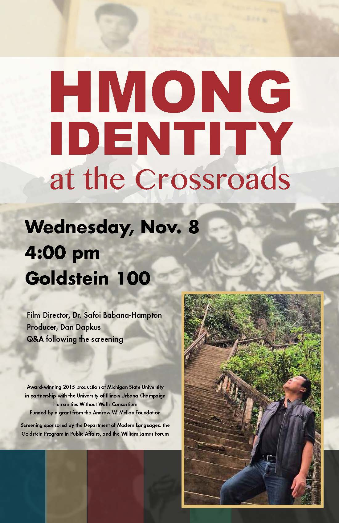 Film Screening: Hmong Identity at the Crossroads followed by a Q & A with Film Director and Prod