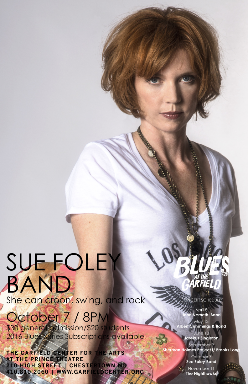 Chestertown Blues Series: Sue Foley Band