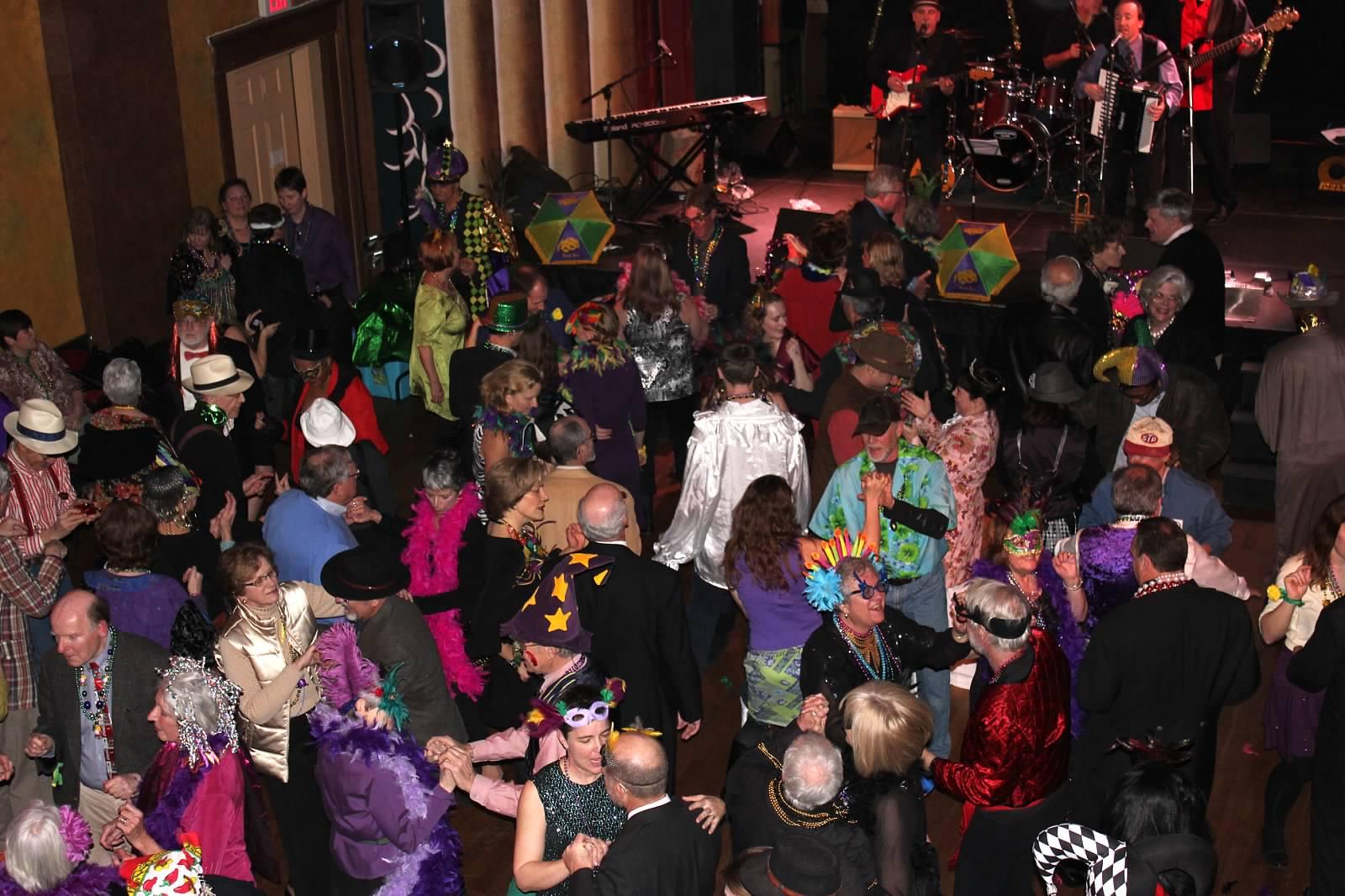 Mardi Gras Dance Party
