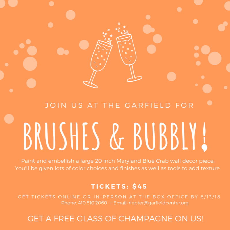 Brushes & Bubbly at the Garfield!