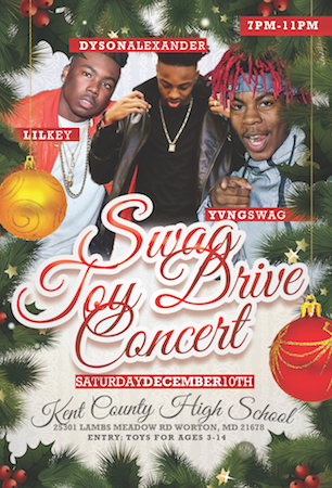 The Swag Toy Drive Concert