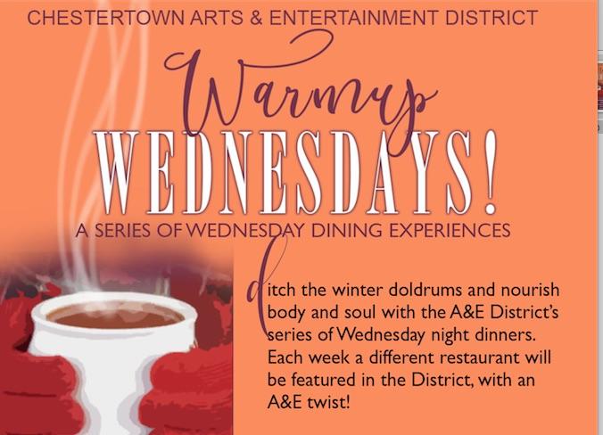 """Warm-Up Wednesday"" Dinner"