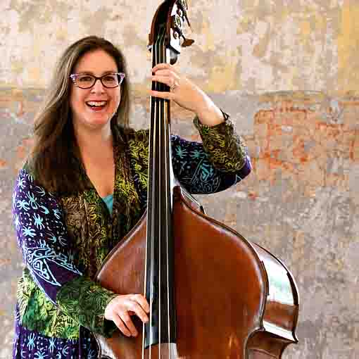 Mainstay Monday: Joe Holt on piano welcomes Amy Shook on bass