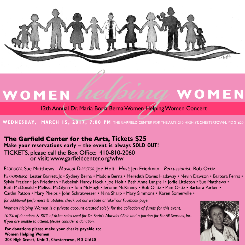 12th Annual Women Helping Women Concert