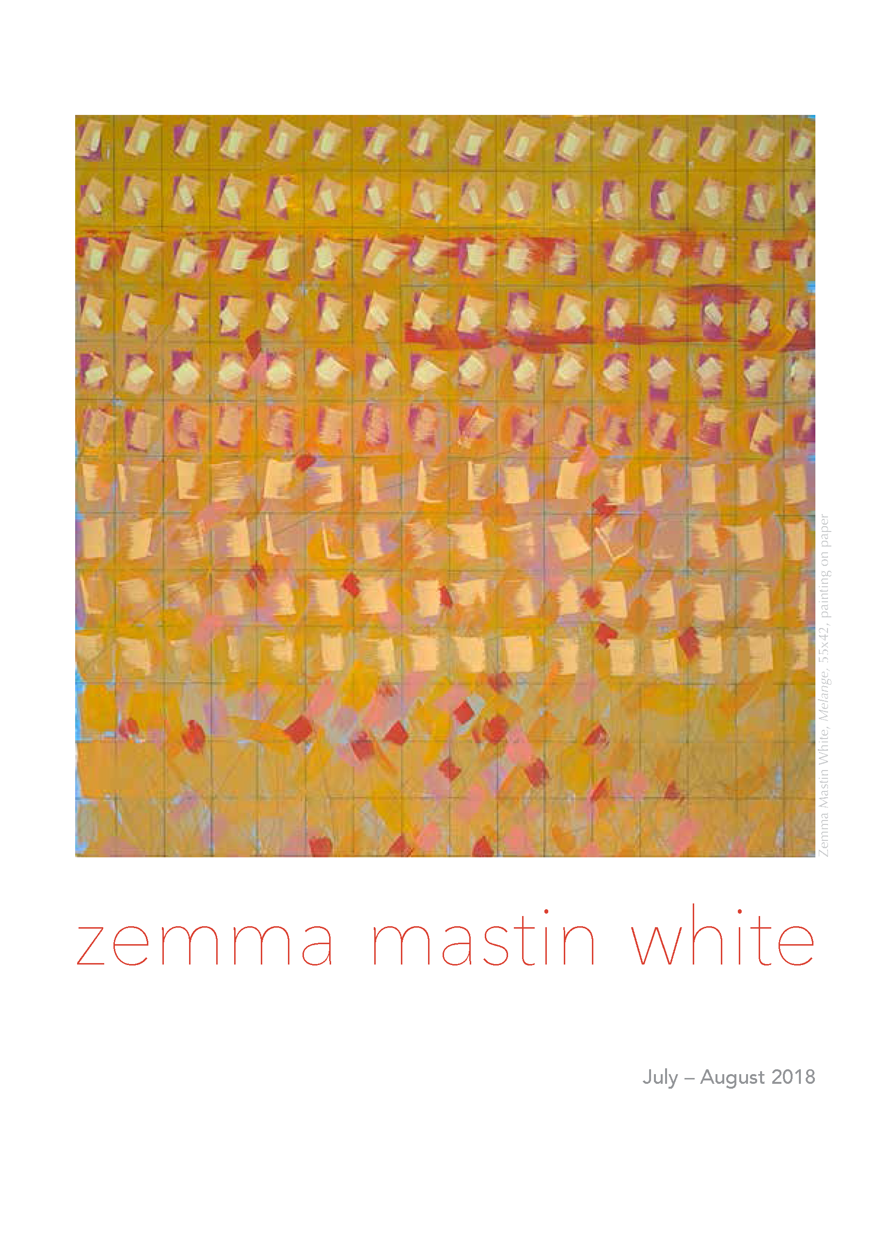 MassoniArt presents ZEMMA MASTIN WHITE