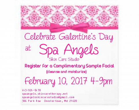 Spa Angels 1st Annual Galentine's Day
