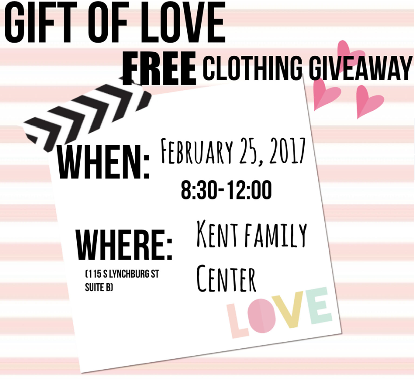 Gift of Love Clothing Giveaway