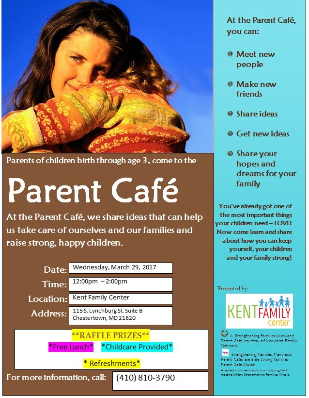 Strengthening Families Parent Cafe