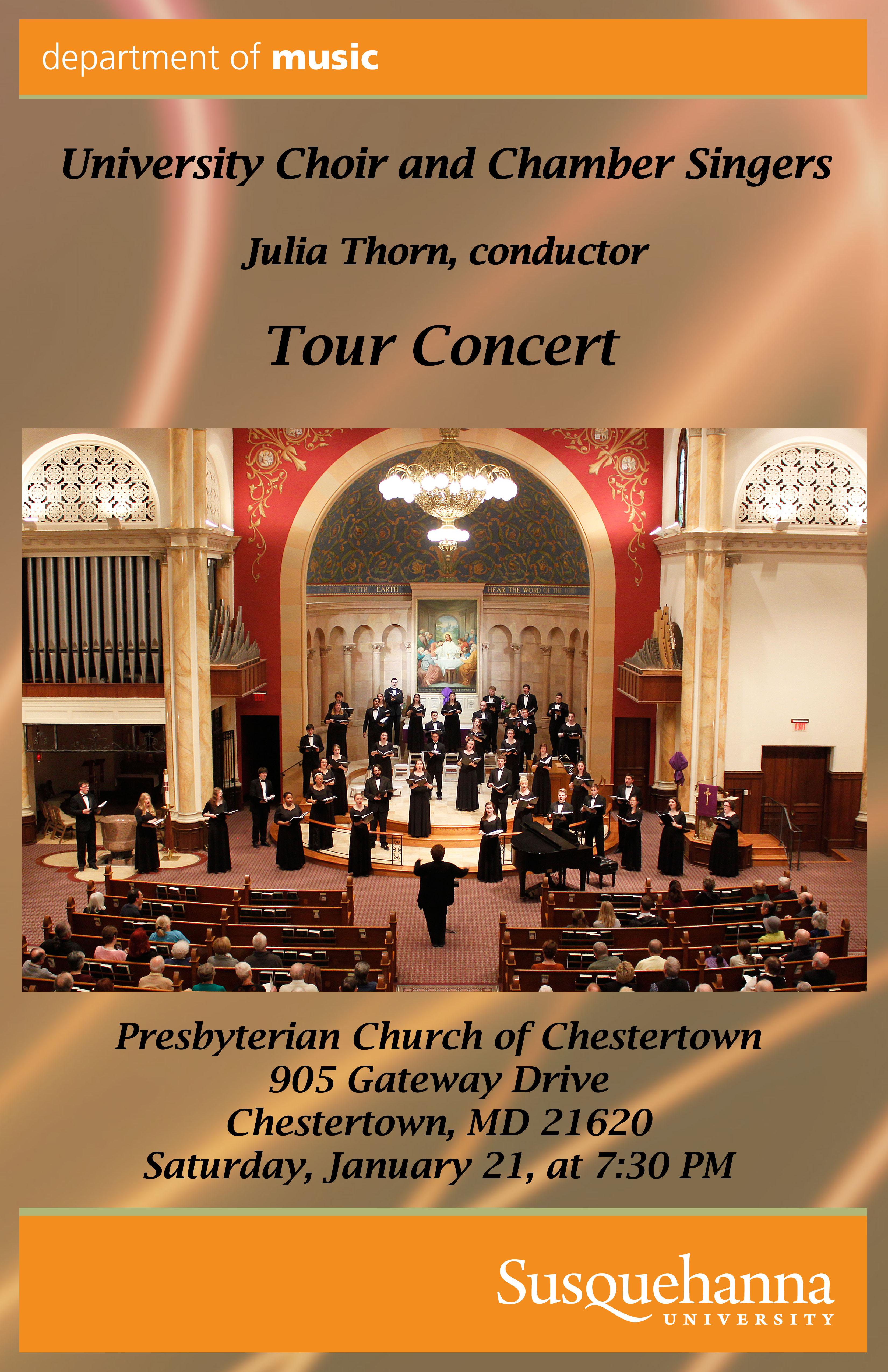 Susquehanna University Choir & Chamber Choir Concert