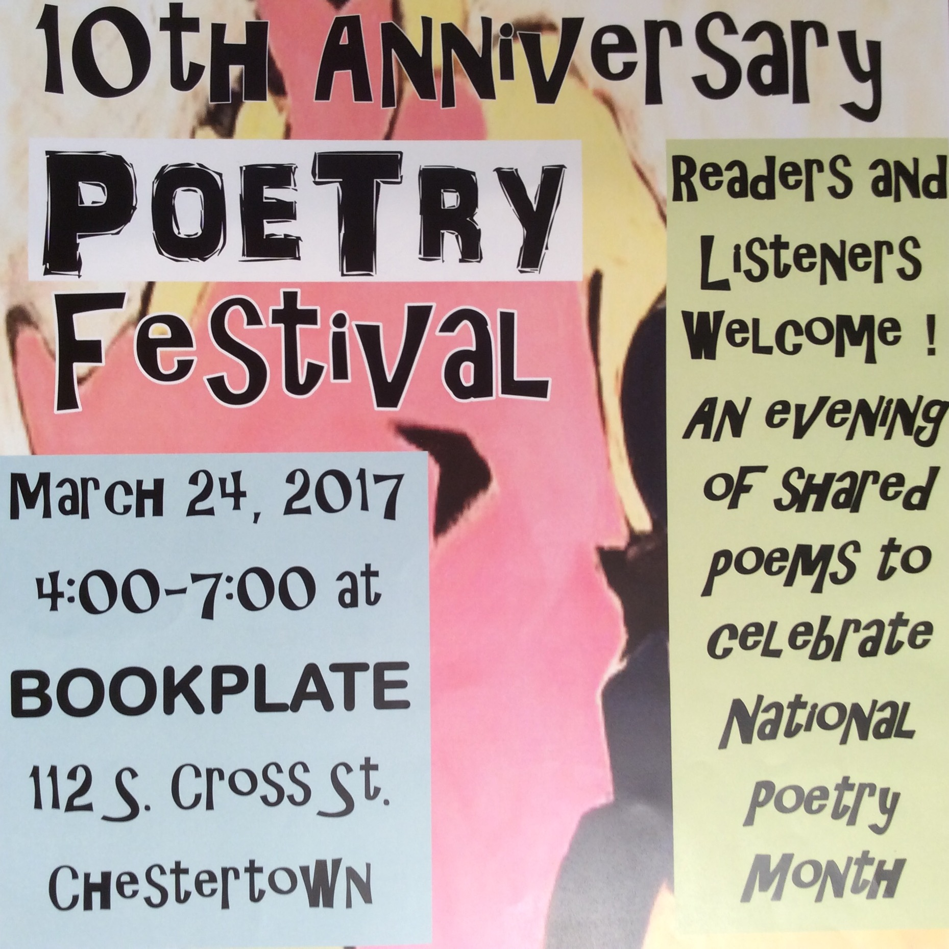 10th Anniversary Poetry Festival