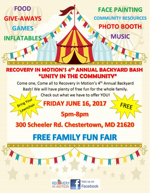 FREE Family Fun Fair-4th Annual Backyard Bash
