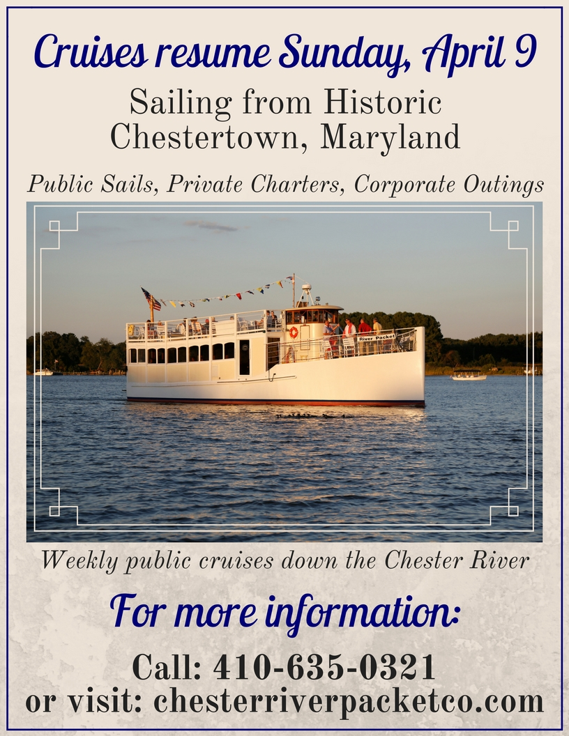 River Packet First Public Brunch Cruise of 2017