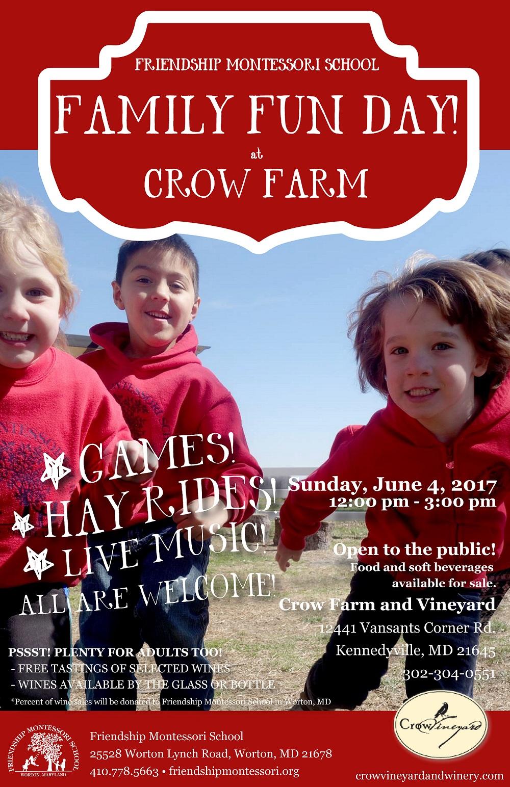 Family Fun Day at Crow Farm
