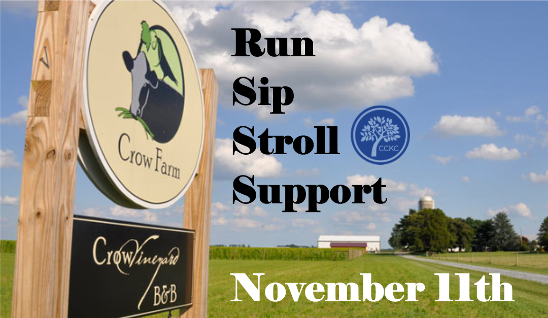 Character Day at Crow Farm: Run. Sip. Stroll. Support.