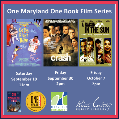 """One Maryland One Book Morning Matinee - Do the Right Thing"""