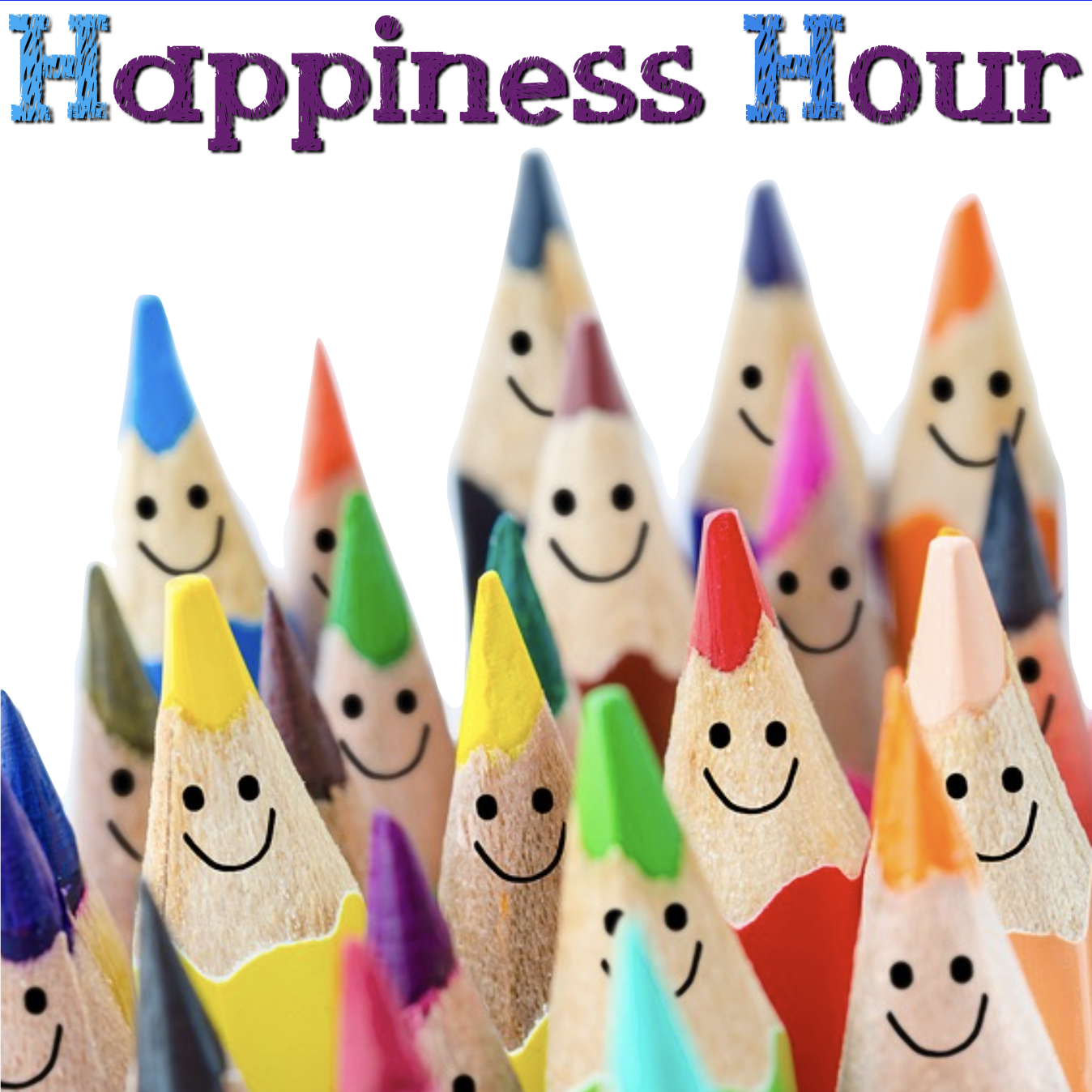 Happiness Hour :  Creative Time for Grown-Ups