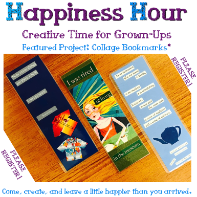 Happiness Hour: Creative Time for Grown-Ups