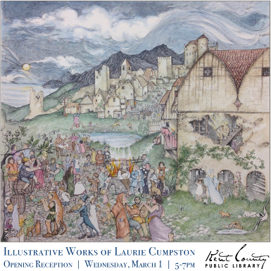 Opening Reception: The Illustrative Works of Laurie Cumpston