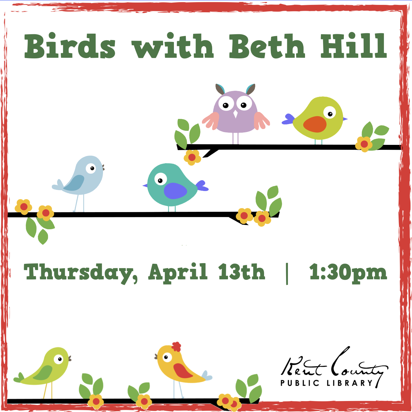 Birds with Beth Hill