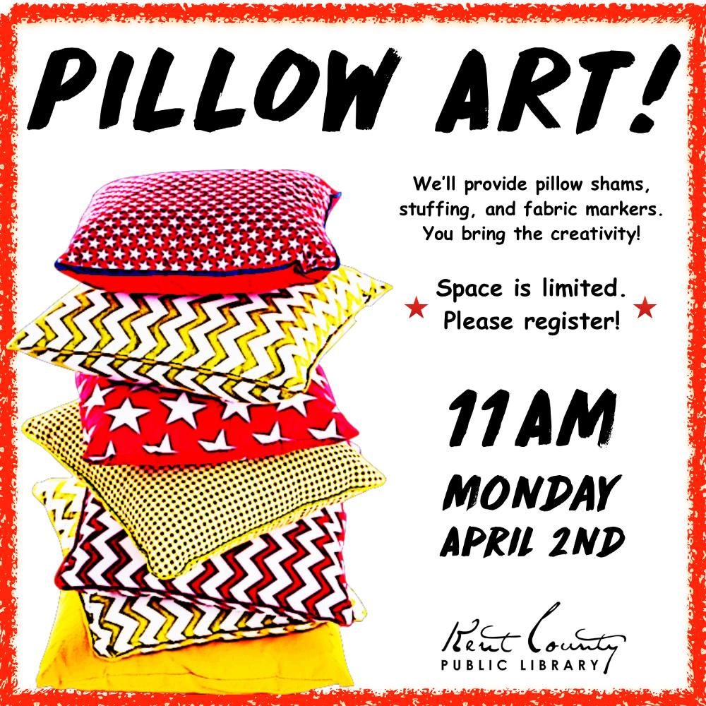 Pillow Art!