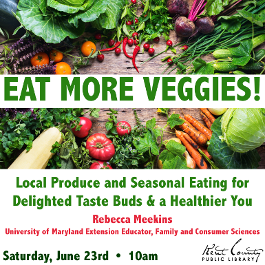 Eat More Veggies! Delighted Taste Buds & A Healthier You