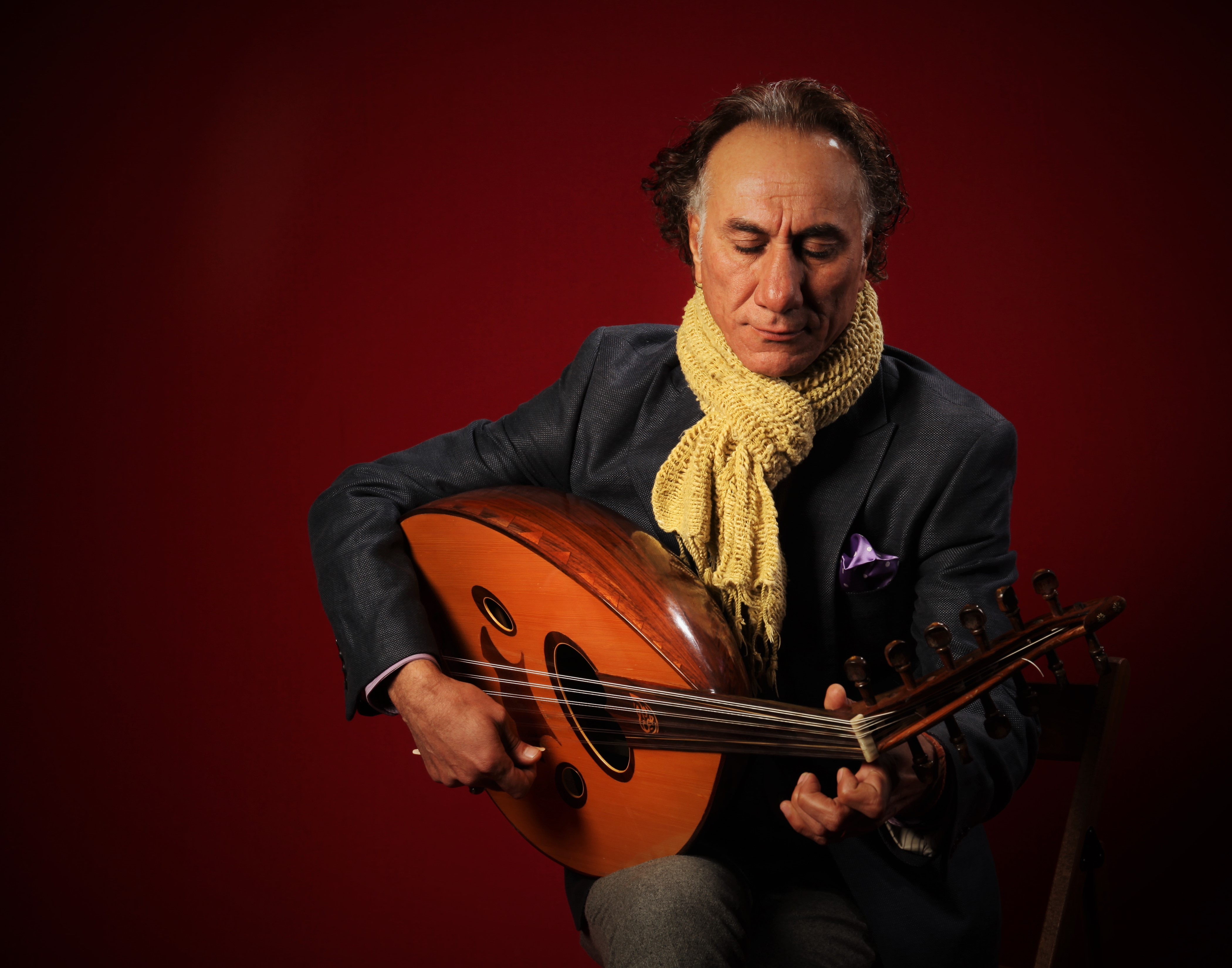 Rahim AlHaj - Arabic Oud with String/Percussion Septet