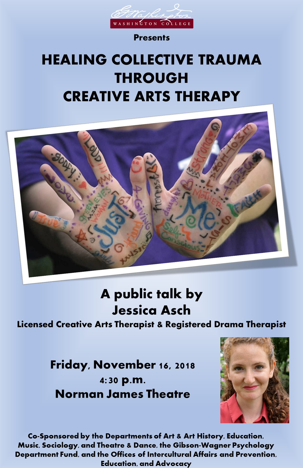 Healing Collective Trauma Through Creative Arts Therapy: A Talk by Jessica Asch