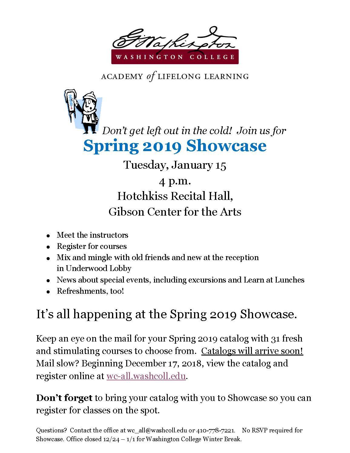 WC-ALL Spring Showcase