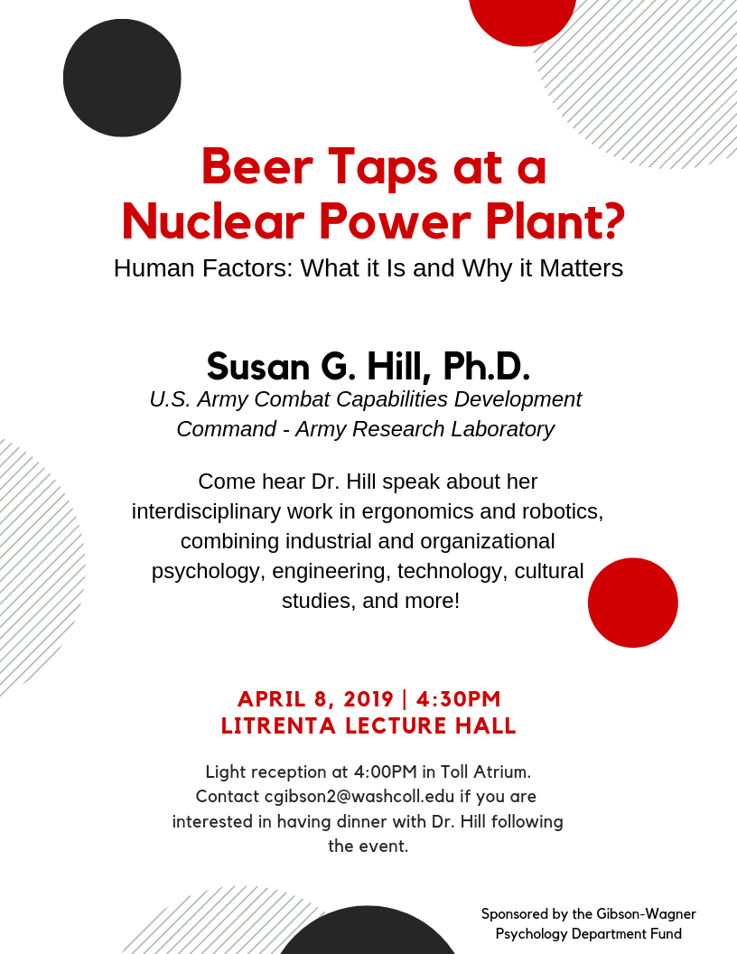 Beer Taps at a Nuclear Power Plant?  Human Factors: What it Is and Why it Matters
