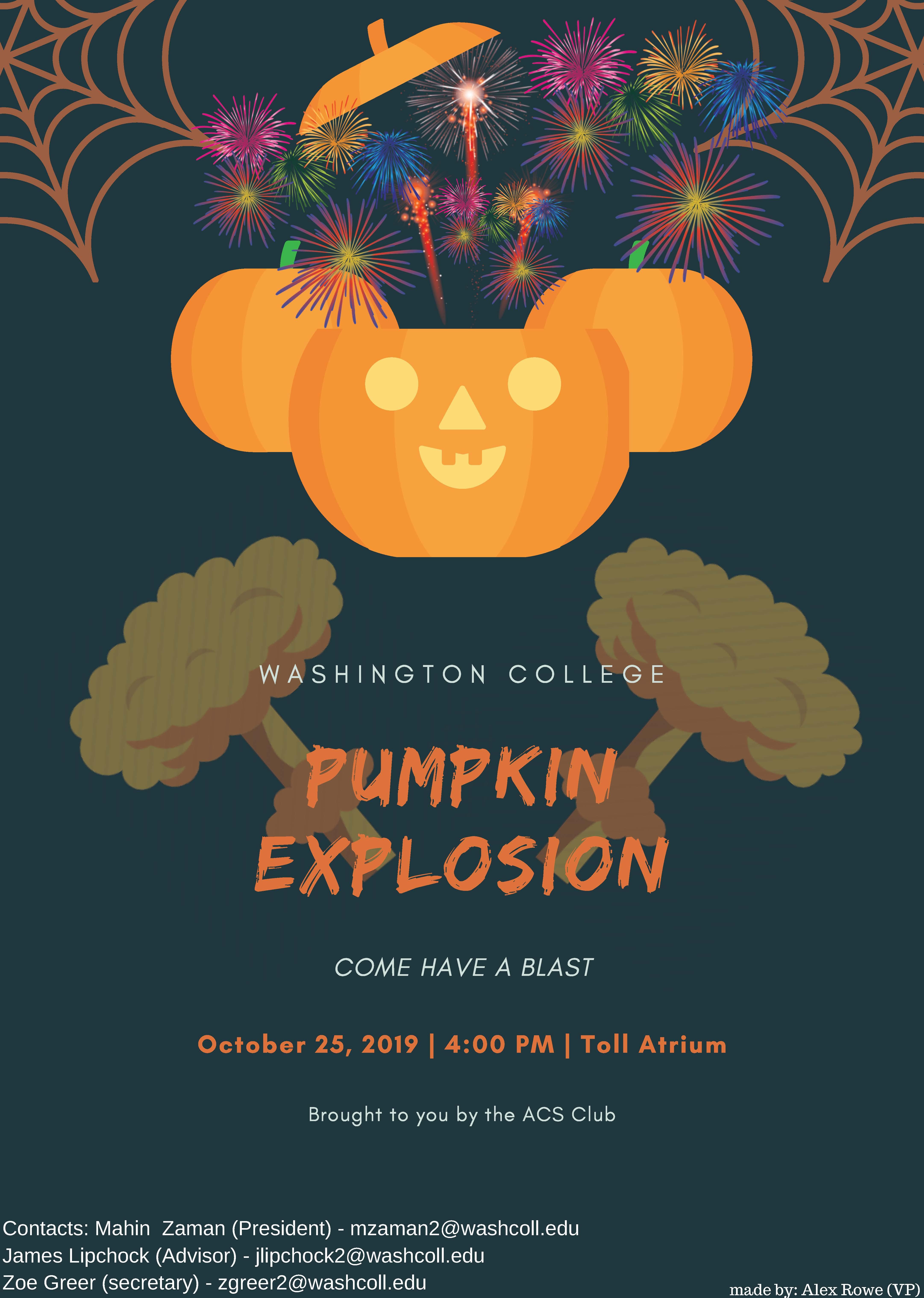 Pumpkin Explosions!