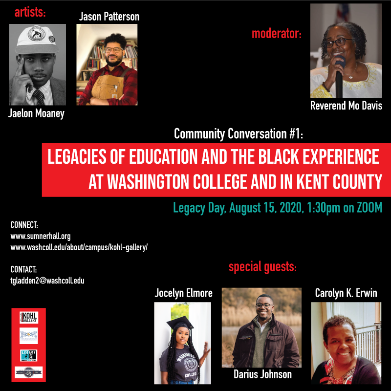 Legacy Day Conversation: Legacies of Education and the Black Experience at Washington College and in Kent County