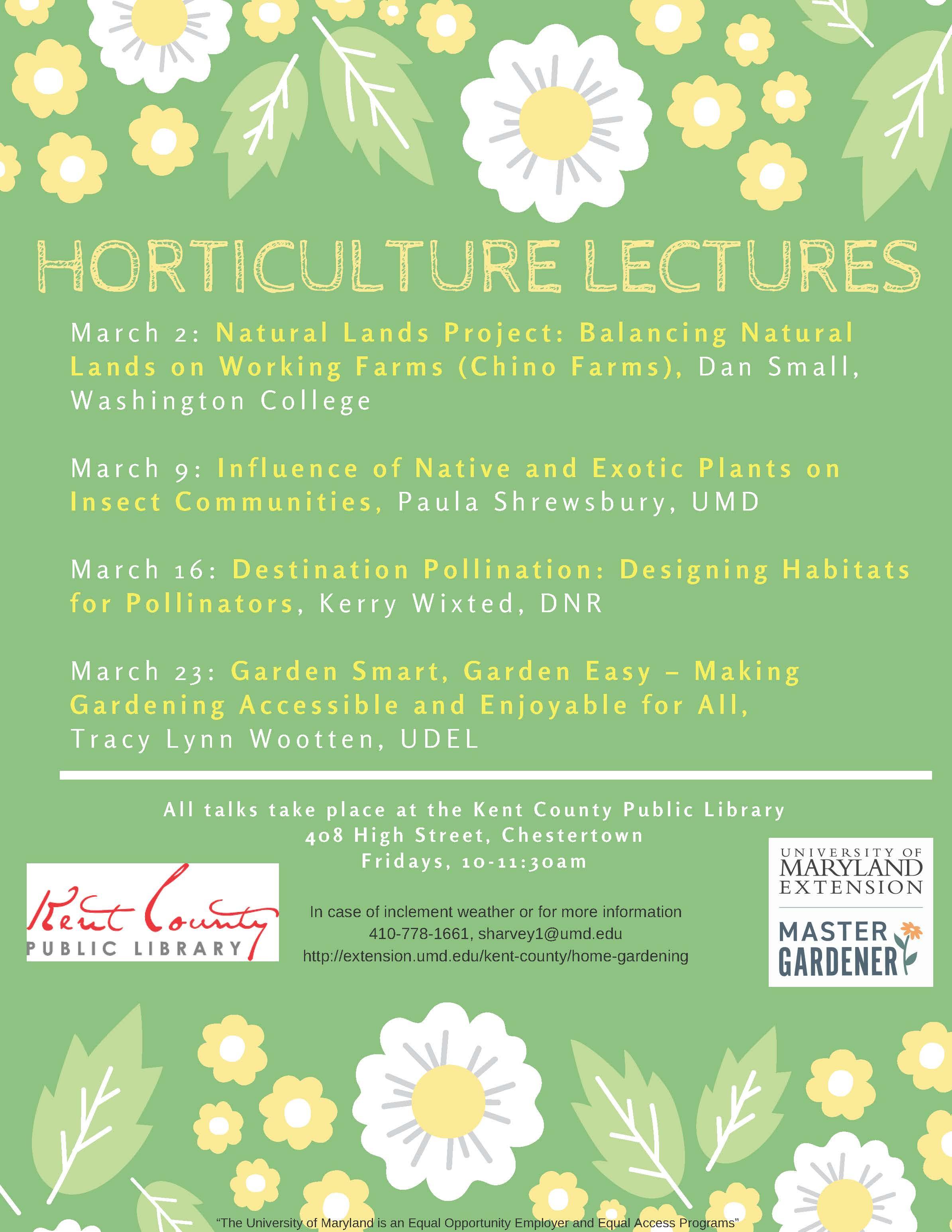 Destination Pollination: Designing Habitats for Pollination