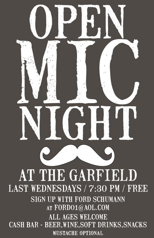 Open Mic Night at the Garfield