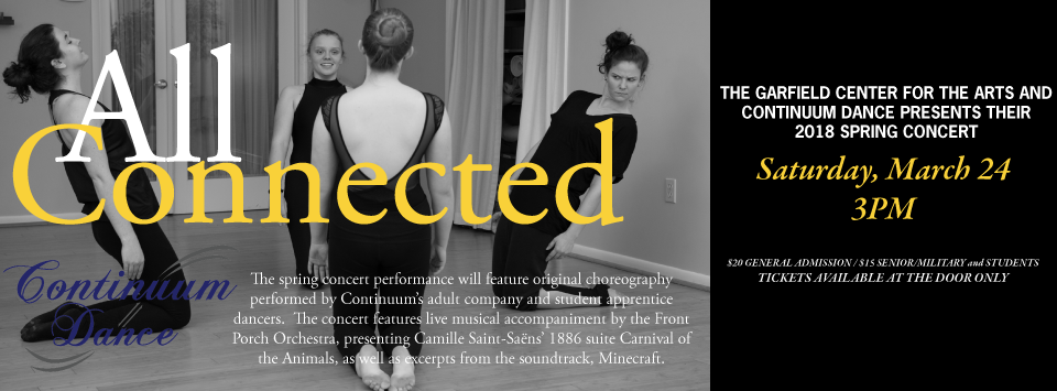 Continuum Dance Company Performance March 24 @ 3:00 PM - 5:00 PM