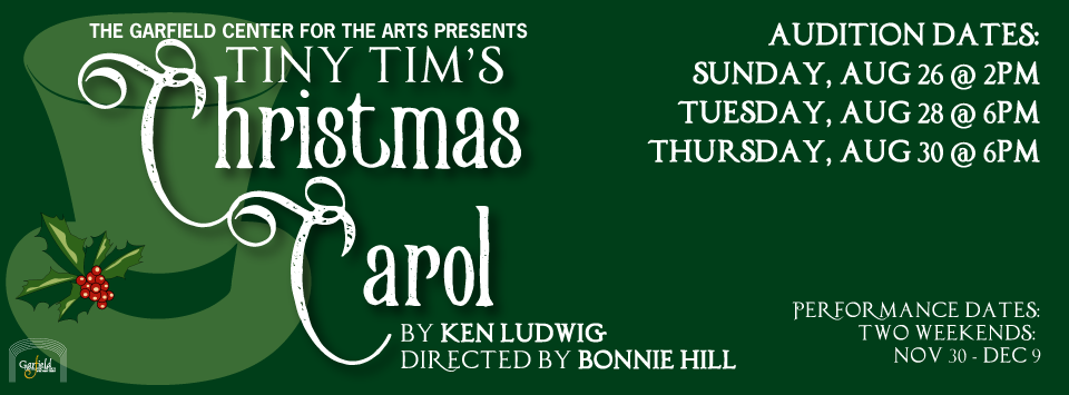 AUDITIONS – Tiny Tim's Christmas Carol