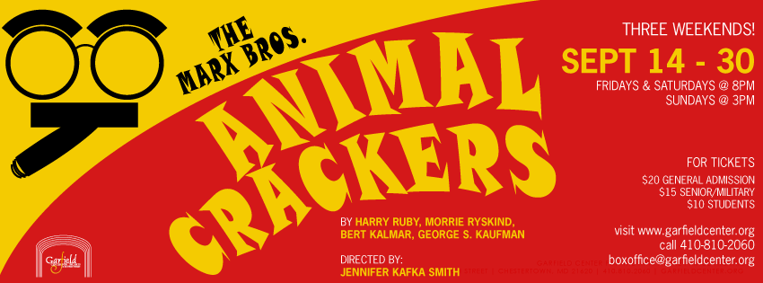 Animal Crackers (Closing Weekend)
