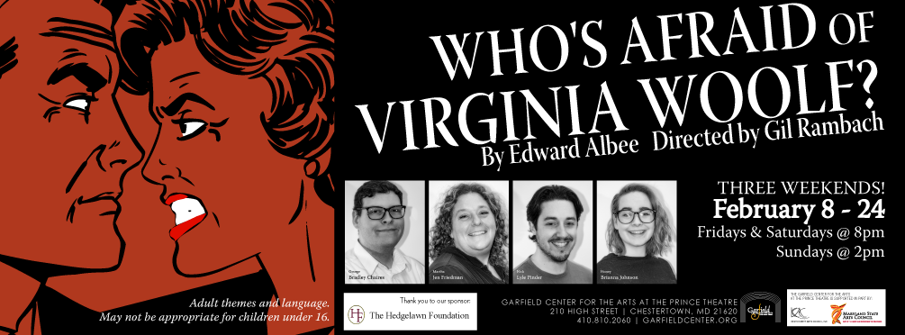"The Garfield presents ""Who's Afraid of Virginia Wolf?"""