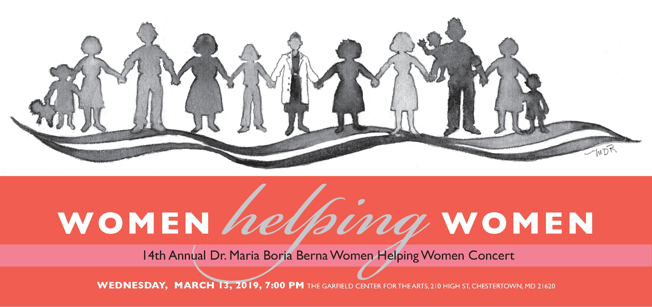 14th Annual Dr. Maria Boria Berna Women Helping Women Concert
