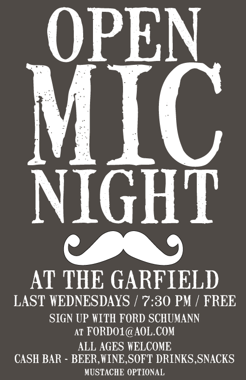 Open Mic Night at the Garfield