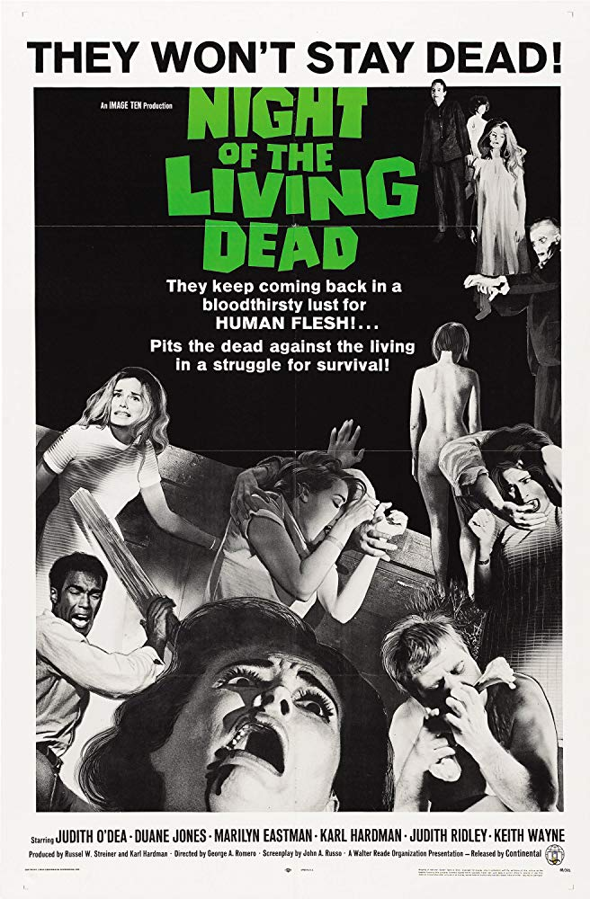 Movie Night At The Garfield Presents: Night of the Living Dead
