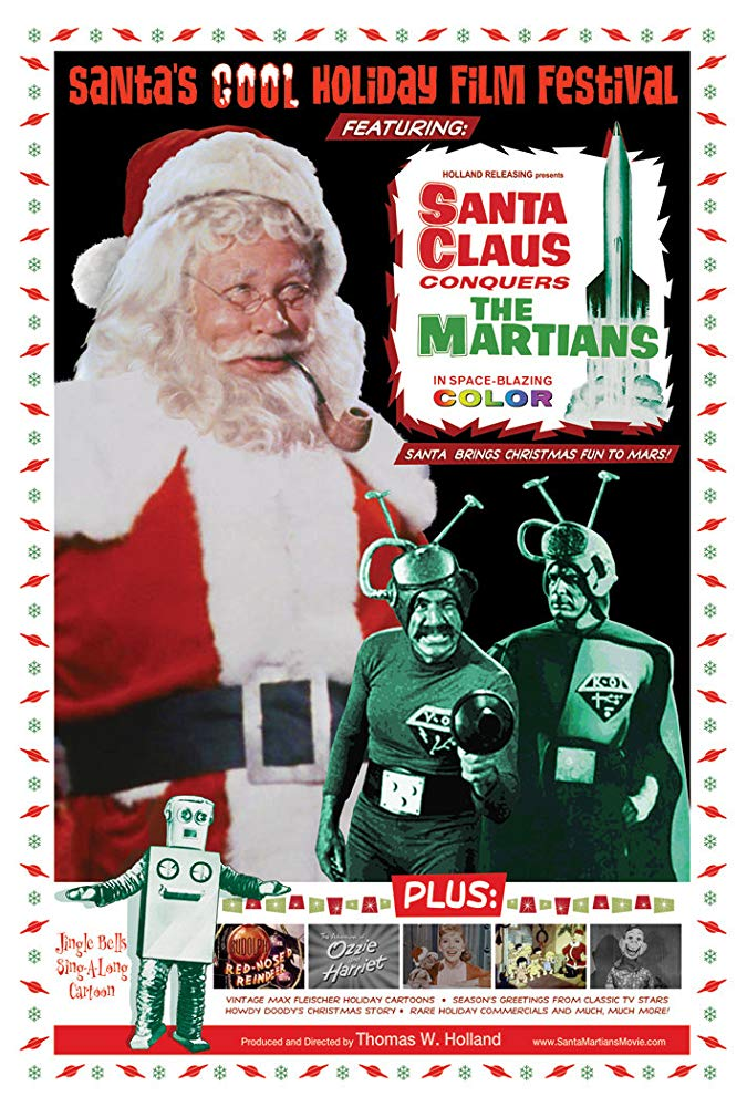 Movie Night At The Garfield Presents: Santa Claus Conquers the Martians