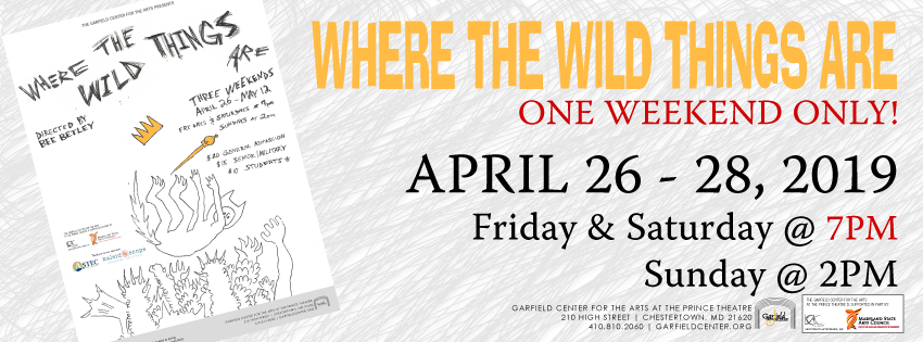 Where the Wild Things Are - ONE WEEKEND ONLY