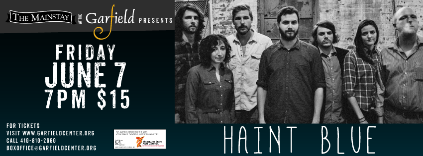 The Mainstay at the Garfield presents: Haint Blue