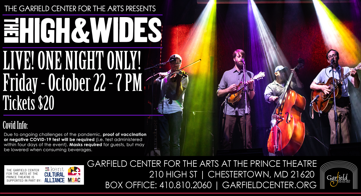 The High & Wides - LIVE at the Garfield!