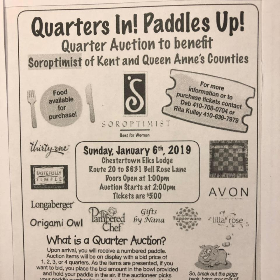 Soroptimist Quarter Auction
