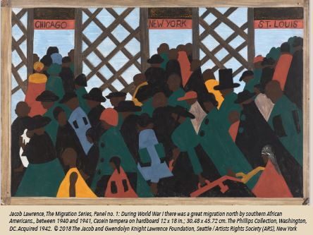 MIGRATION: An Exploration in Art, Words & Music, Inspired by Jacob Lawrence