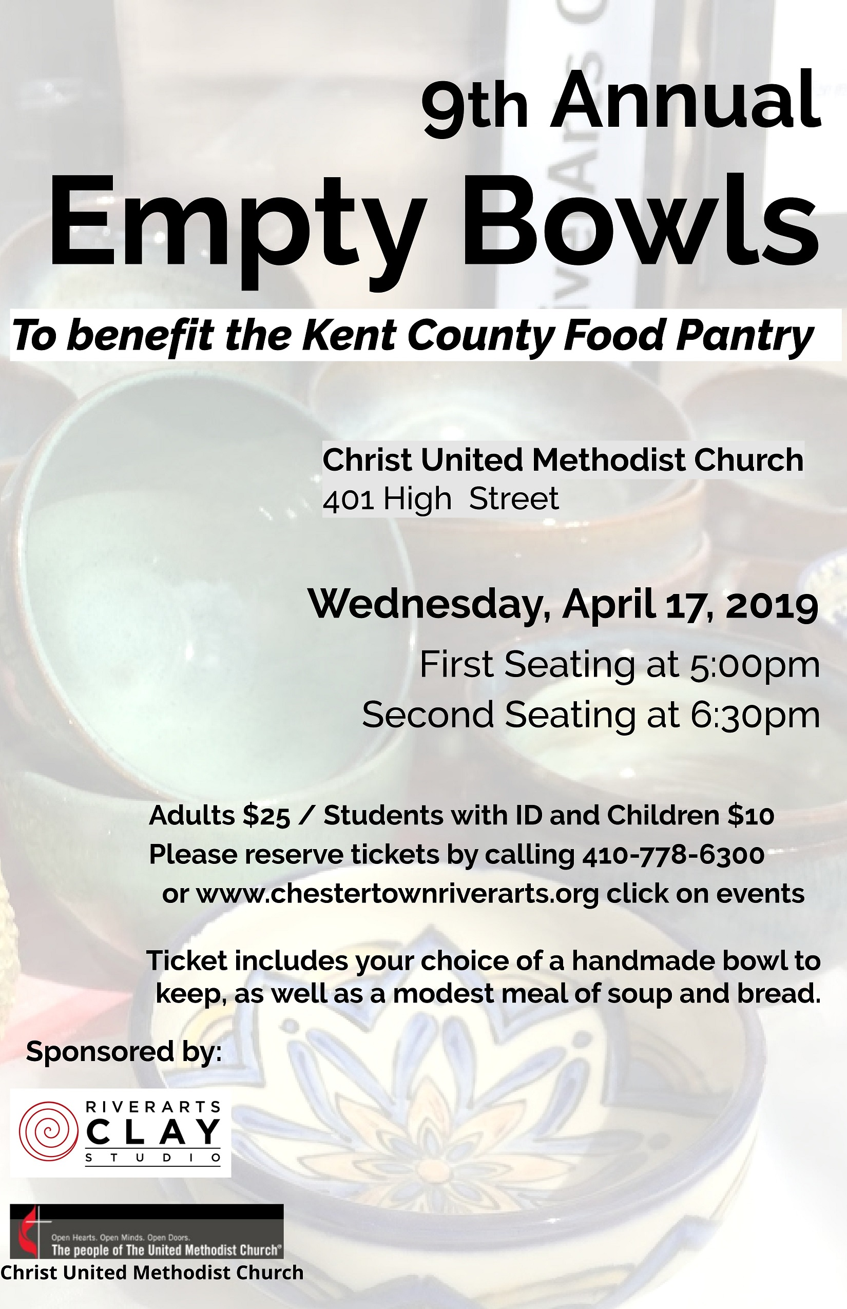 9th Annual Empty Bowls